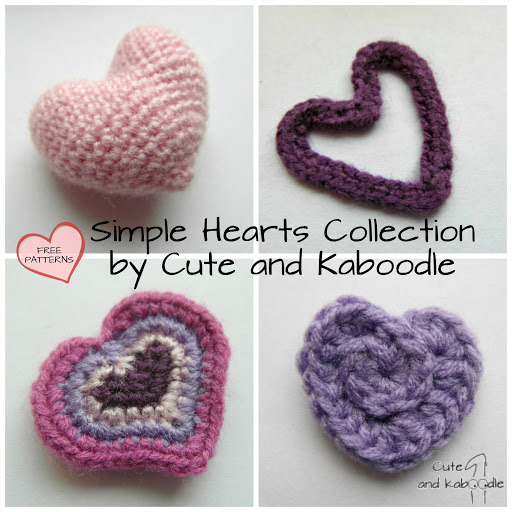Free Hearts Patterns by Cute and Kaboodle