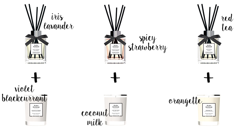 Match your home fragrance to your scented candle Alex Simone.