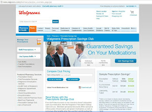 Photo: Before going to Walgreens I checkout their website, there was a lot of great information there.