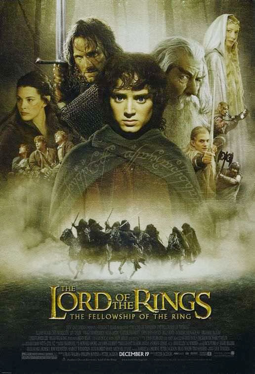 Poster Of The Lord of the Rings (2001) Full Movie Hindi Dubbed Free Download Watch Online At Alldownloads4u.Com