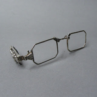 Coin Silver Folding Spectacles