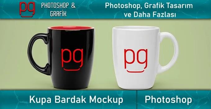 Kupa Bardak Mockup İndir -  Mug Mockup Download