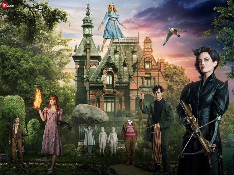 cast- MISS PEREGRINE'S HOME FOR PECULIAR CHILDREN