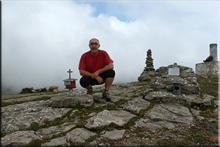 Oteros mendiaren gailurra 1.036 m. - 2016ko ekainaren 4an