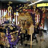 portable shrines in asakuas in Asakusa, Tokyo, Japan