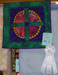 2005 Quilt Show - (D) Pieced Small Hand Quilted
