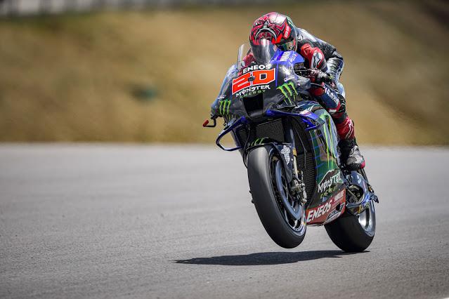 Hasil MotoGP Portugal 2021: Quartararo Juara, Marc 10 Besar, Rossi DNF
