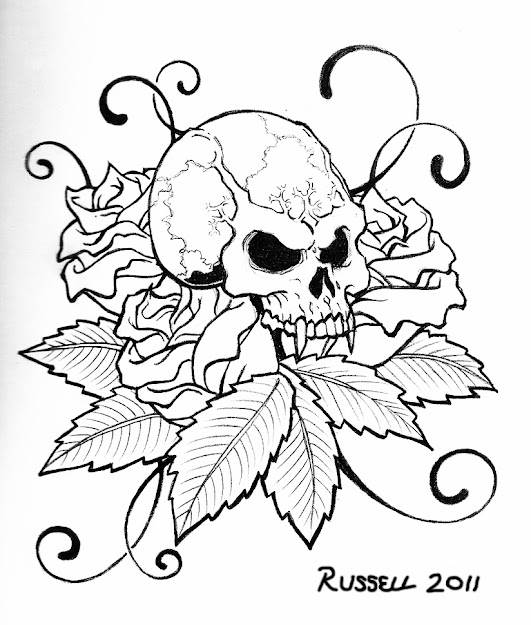 Cool Skull Coloring Pages  Enjoy Coloring