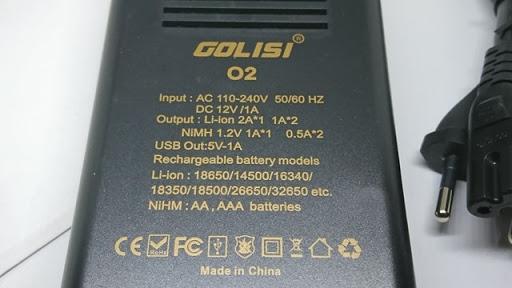 DSC 3271 thumb%255B2%255D - 【充電器】「GOLISI O2 インテリジェントチャージャー」充電器と「GOLISIバッテリー3000mAh」レビュー!2A急速充電可能なVAPEの頼もしい味方!!【バッテリー/チャージャー/電子タバコ/ツール】