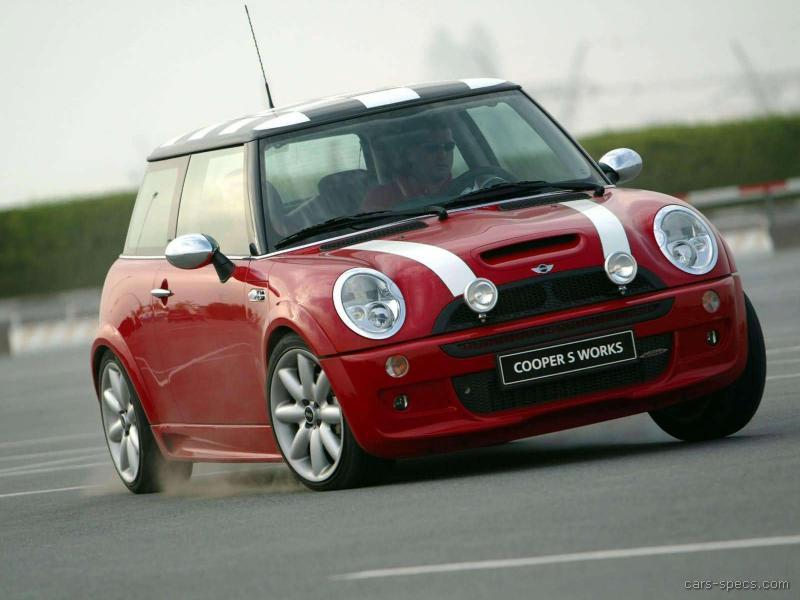 2005 MINI Cooper Hatchback Specifications Prices