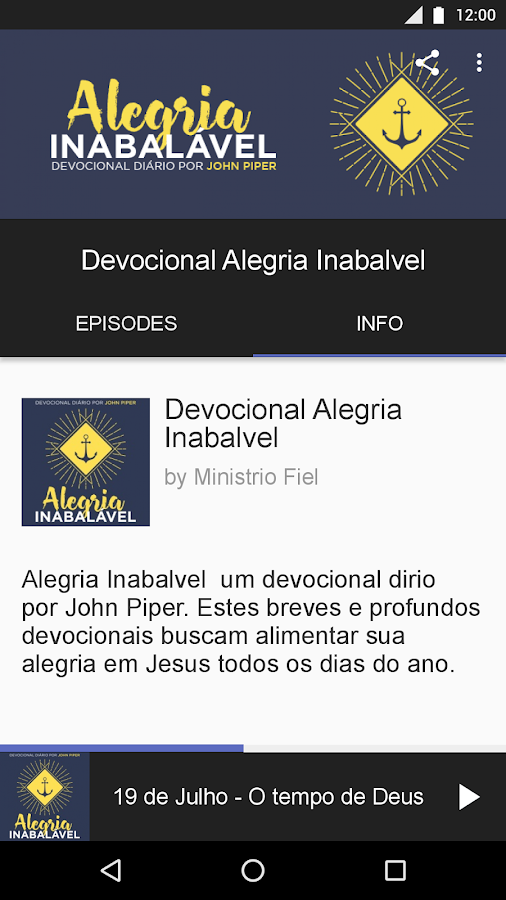 Alegria Inabalável- screenshot