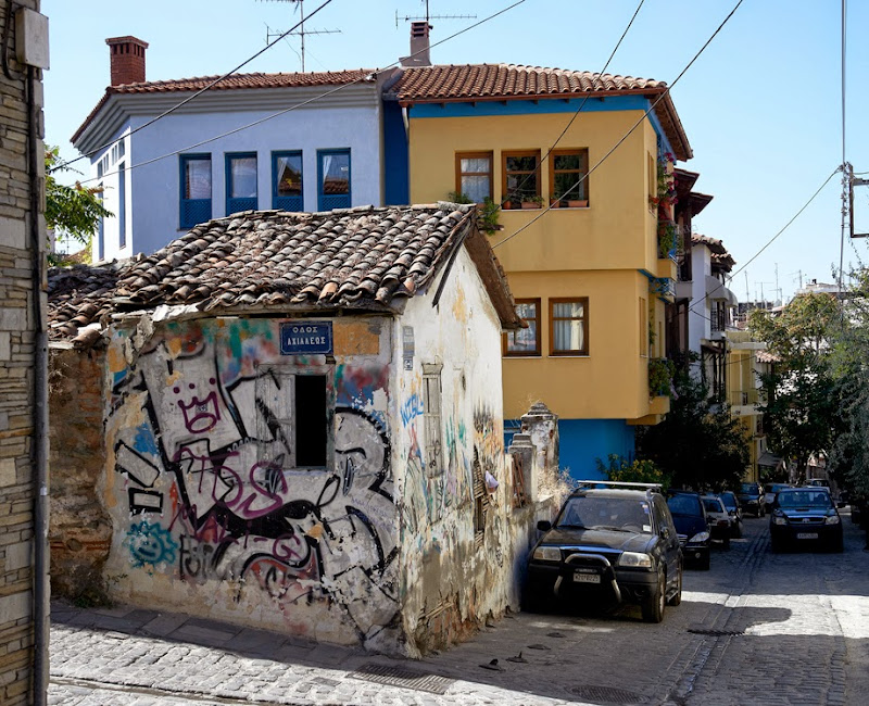 17. Graffiti in Ano Poli (Upper Town)