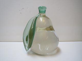 Seguso Murano Glass Pear