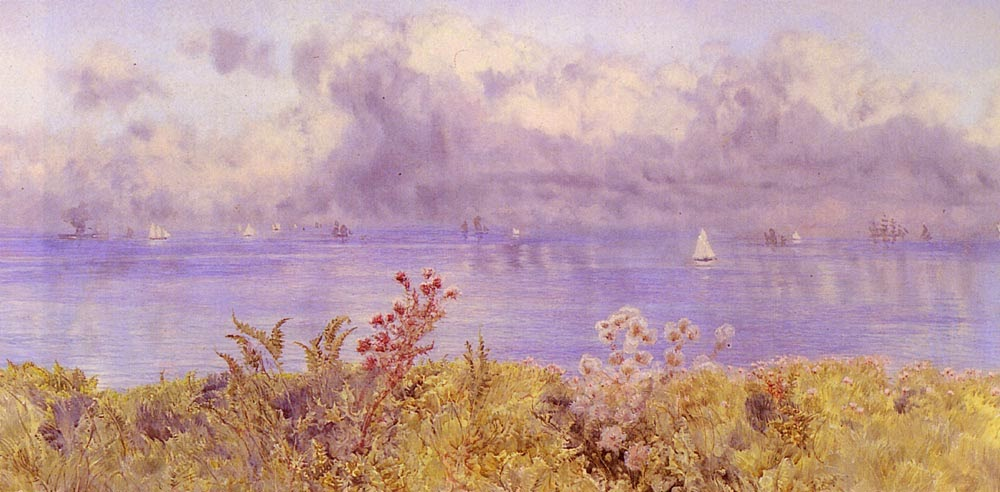 John Edward Brett - Bristol Channel From The Welsh Coast