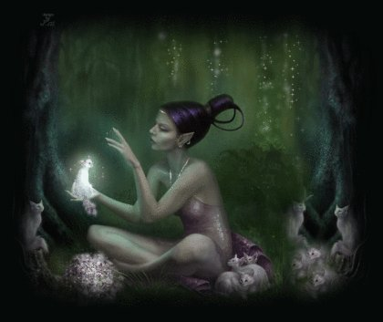Dark And Light Wicca, Green Witches