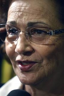 Former first Suzanne Thabet Mubarak