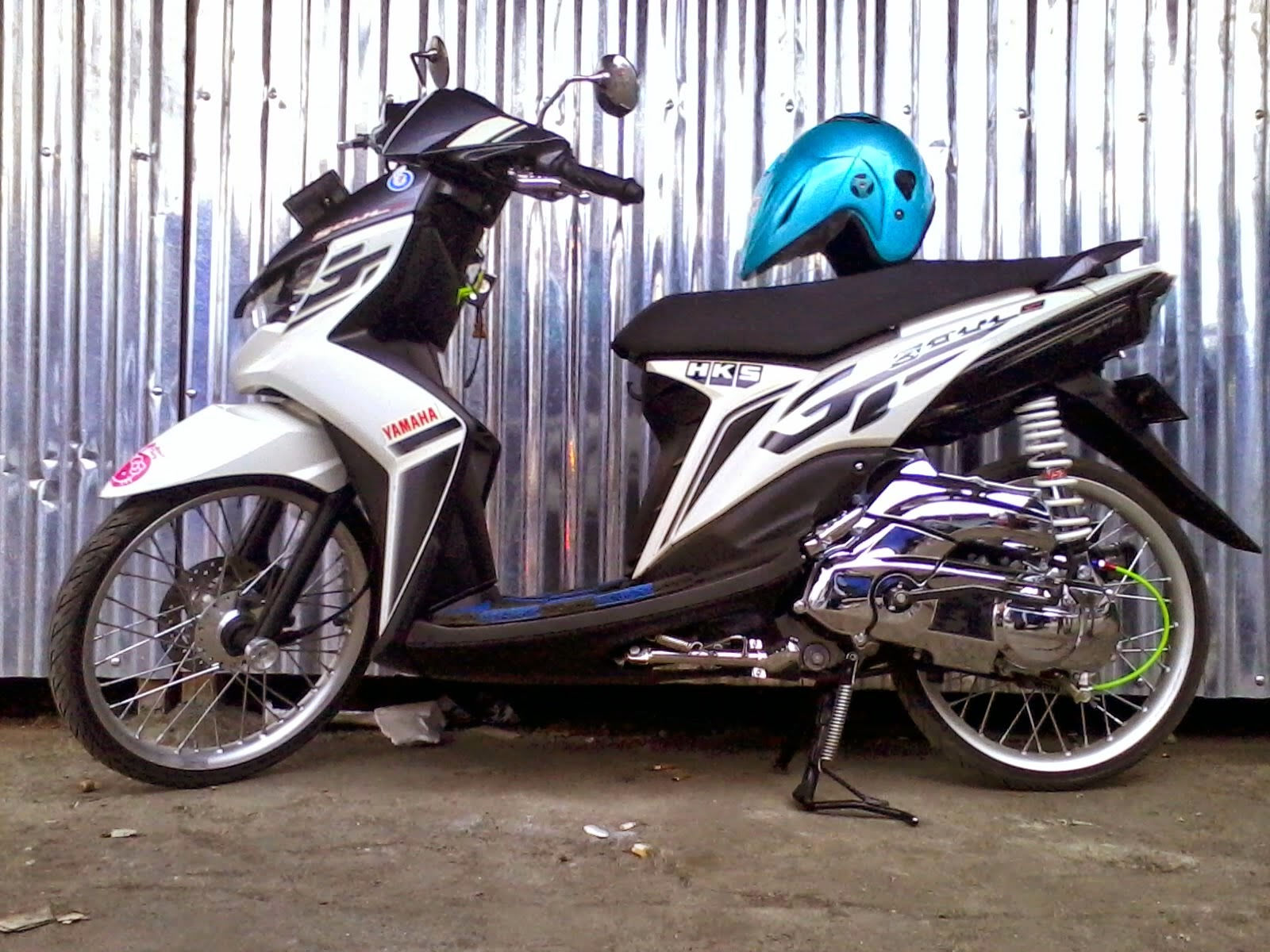 Mio Soul Gt Modifikasi Warna