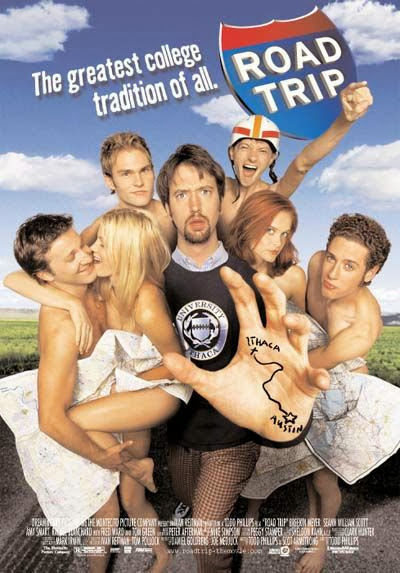 Poster Of Road Trip (2000) Full Movie Hindi Dubbed Free Download Watch Online At Alldownloads4u.Com
