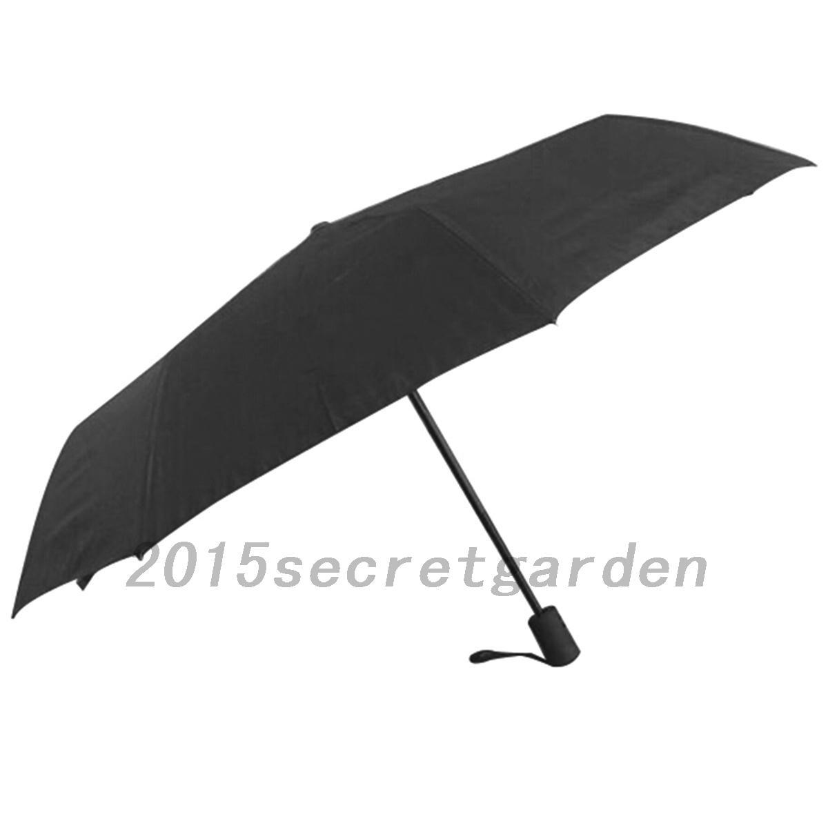 coupe vent parapluie pliant solide incassable avec housse de protection umbrella ebay. Black Bedroom Furniture Sets. Home Design Ideas
