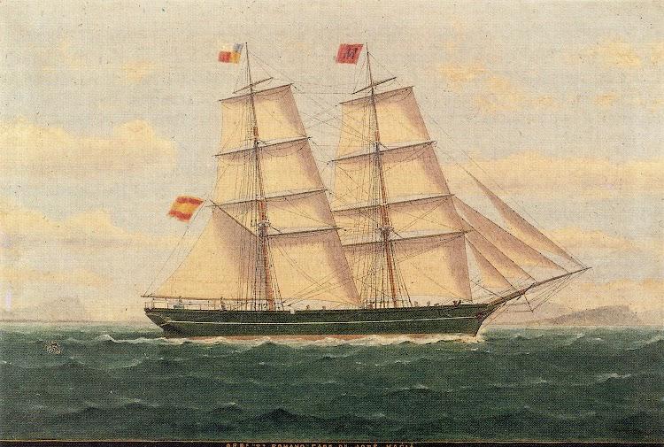 Oleo de Mongay. Gentileza de M. Carme Maciá i Casals. La Marina Mercant de Lloret de Mar. Segles XVIII y XIX.jpg