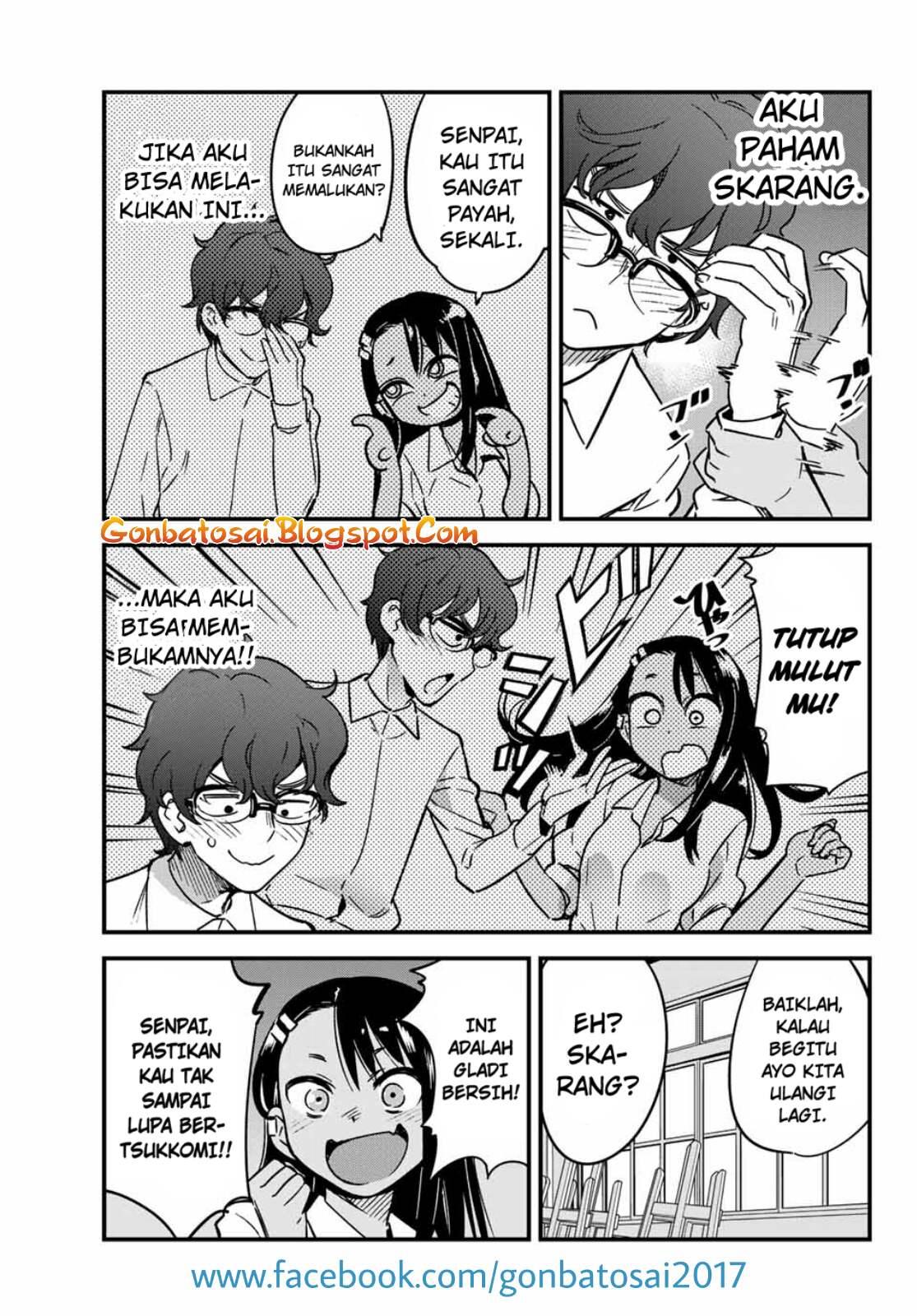 Baca Komik Ijiranaide, Nagatoro-san Chapter 10 Komik Station
