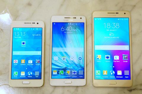 Bộ ba Galaxy A3, A5 và A7 cũ