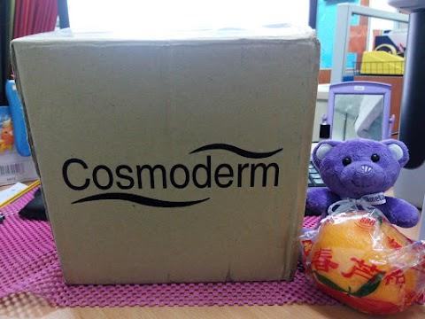 Hadiah Online Contest dari Cosmoderm dah Sampai