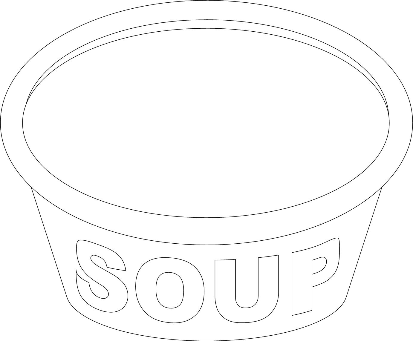 Stone Soup Poem Coloring Page