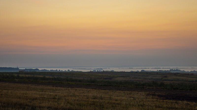 с. Броннники, схід сонця