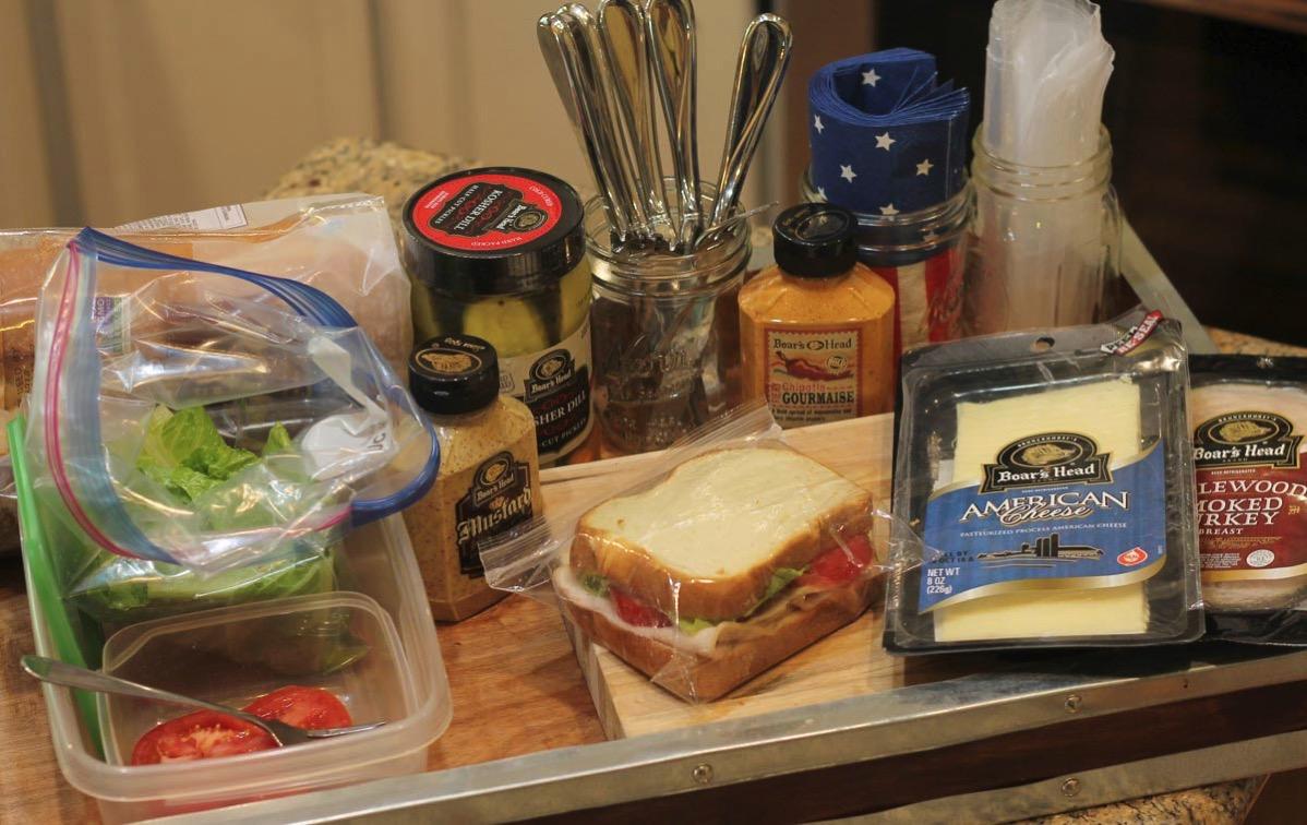 Make a sandwich station