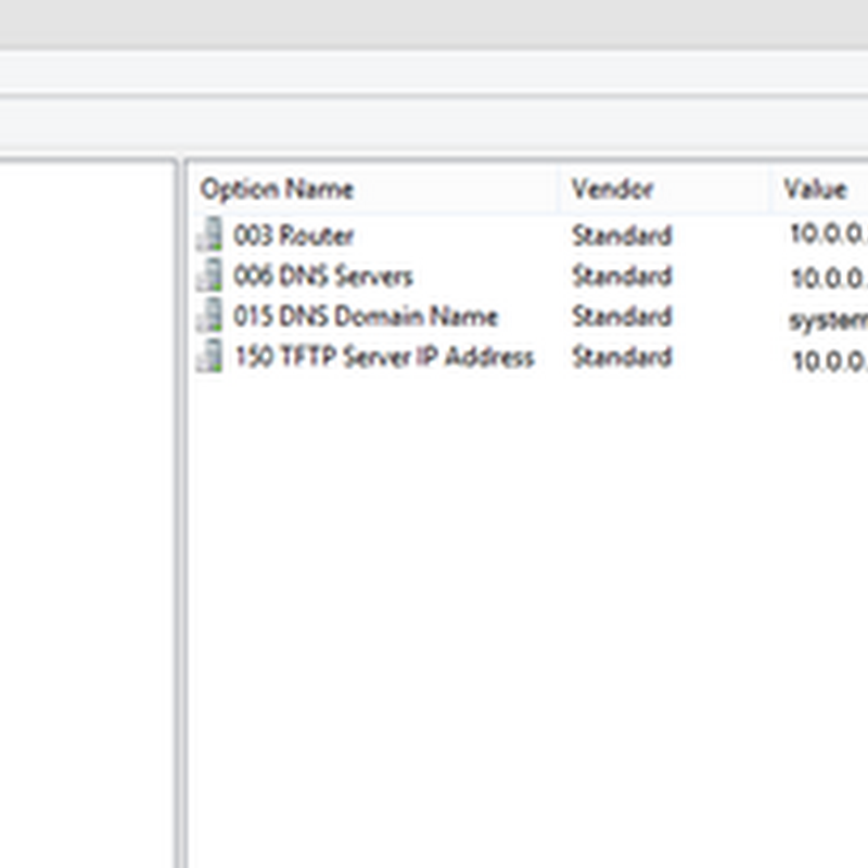 How to configure DHCP for PXE Booting on WDS or SCCM 2012/2016 successfully