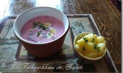 Eine kalte Suppe für heiße Sommertage