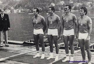 1976-La saison de l'équipe de France d'aviron