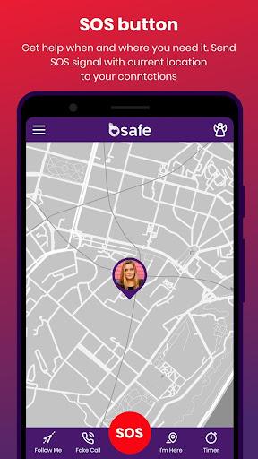 bSafe - Personal Safety App 3.7.52 screenshots 3