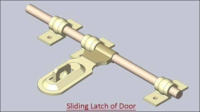 Sliding Latch of Door