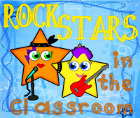 Grab button for Rock Stars in the Classroom