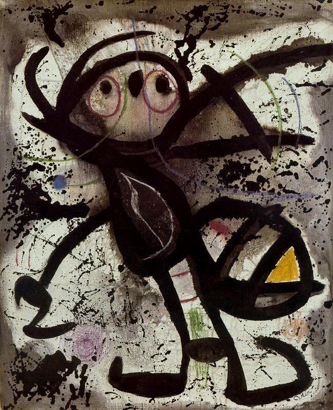 Mujer - Joan Miró