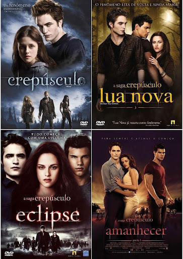 Download – A Saga Crepúsculo 1,2,3 e 4 – BluRay 720p Dual Áudio