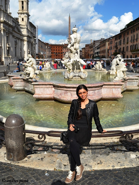 meet the sun @ Piazza Navona