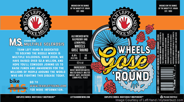 Left Hand Brewing Adding Wheels Gose 'Round Cans
