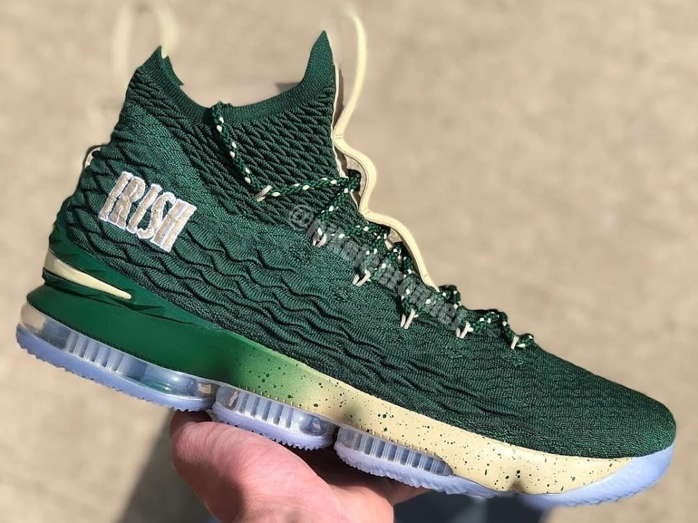 the best attitude a77ad cd499 First Look at Nike LeBron XV SVSM Home and Away PEs ...