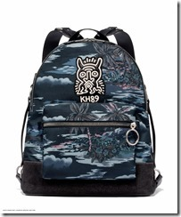 Cordura Academy Backpack in Hawaiian Black (29055 JINHL)