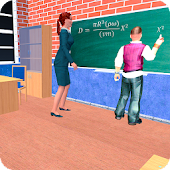 Virtual High School Teacher 3D Android APK Download Free By Digital Royal Studio