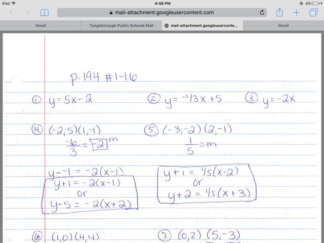 Math with Ms  Eringis : Answer key Algebra quiz review