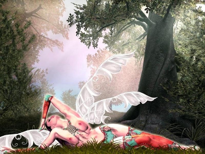 Fairy Under The Tree, Fairies Girls