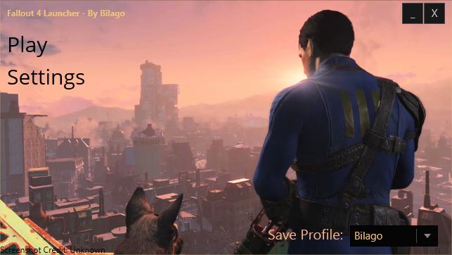 Fallout 4 Configuration Tool
