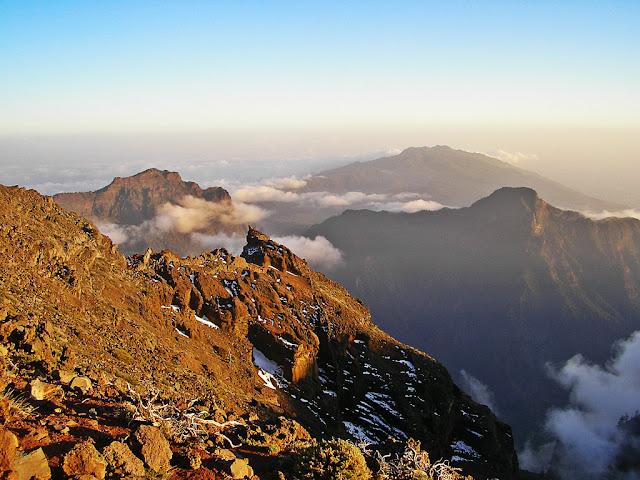 La Caldera de Taburiente en La Palma