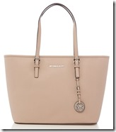 Michael Kors blush pink tote bag