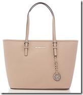 Michael Kors blush pink tote bag