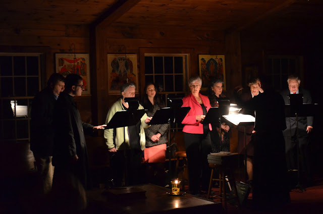 The Choir sings during Noctourns
